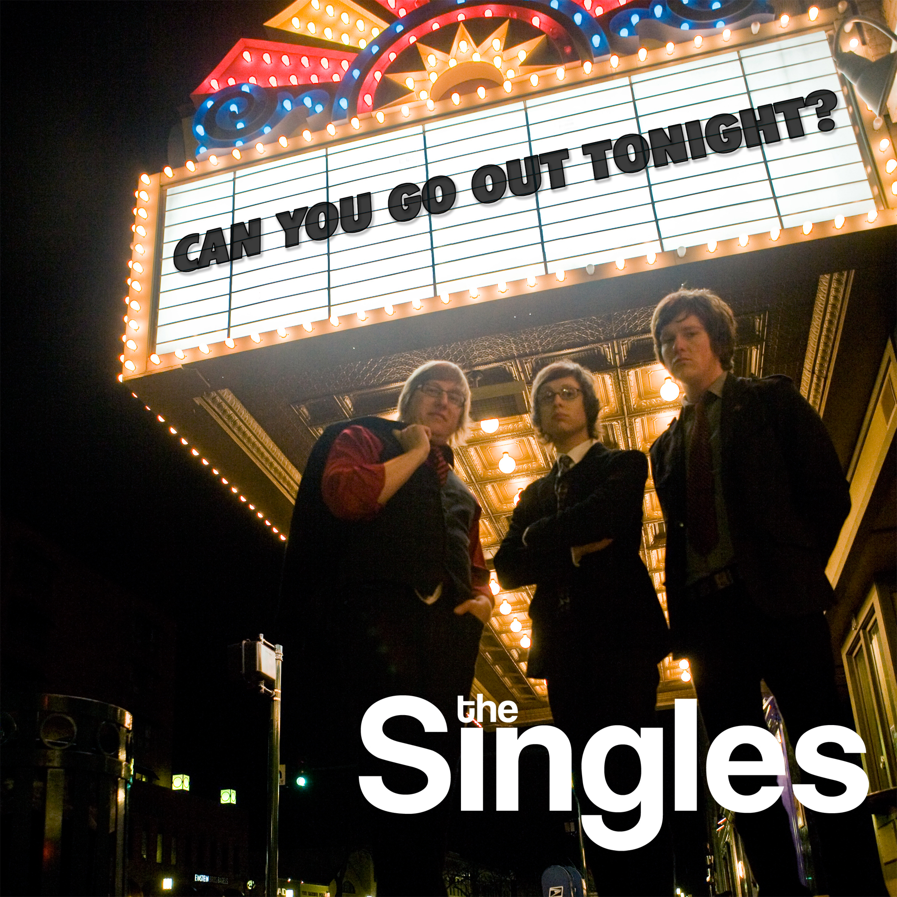 Singles 'Can You Go Out Tonight'CD Art