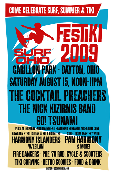 Festiki 2009, screen print $20 + s/h