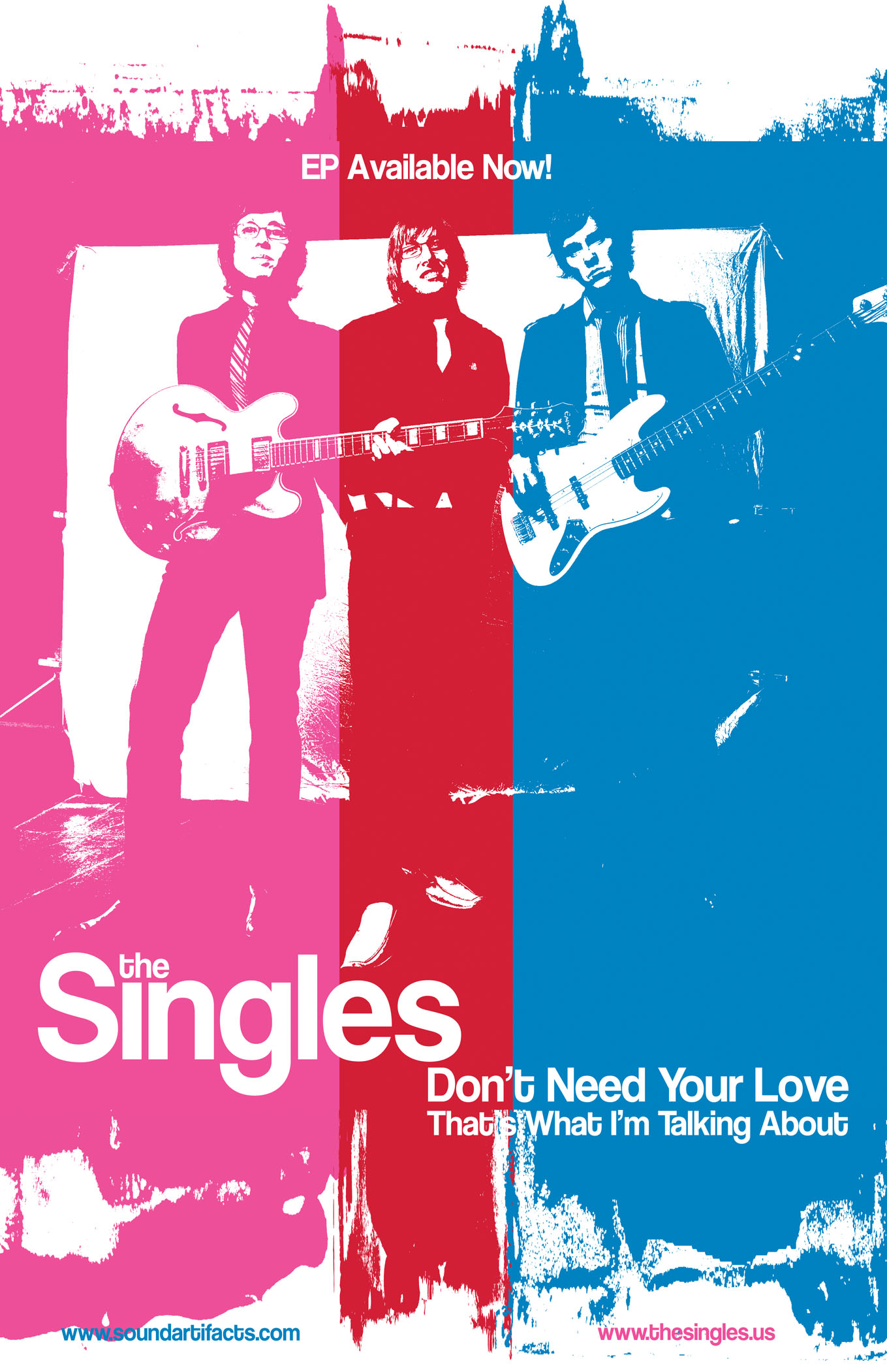 Singles 'Don't Need Your Love'CD art